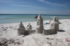 Sandcastle birthday....